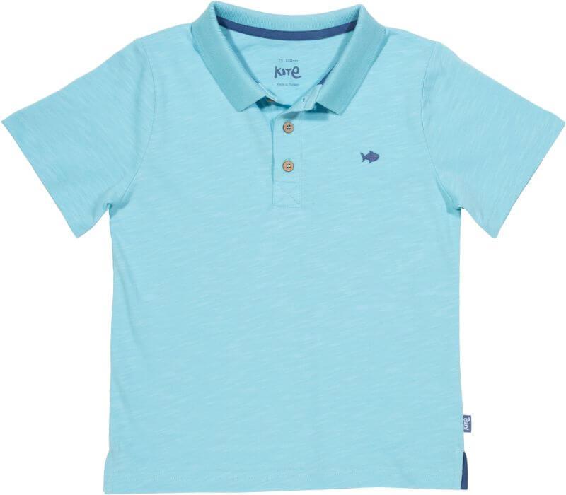Hellblaues Polo-Shirt für Jungs