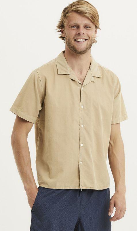 Sommerliches Cord-Hemd für Herren in Beige