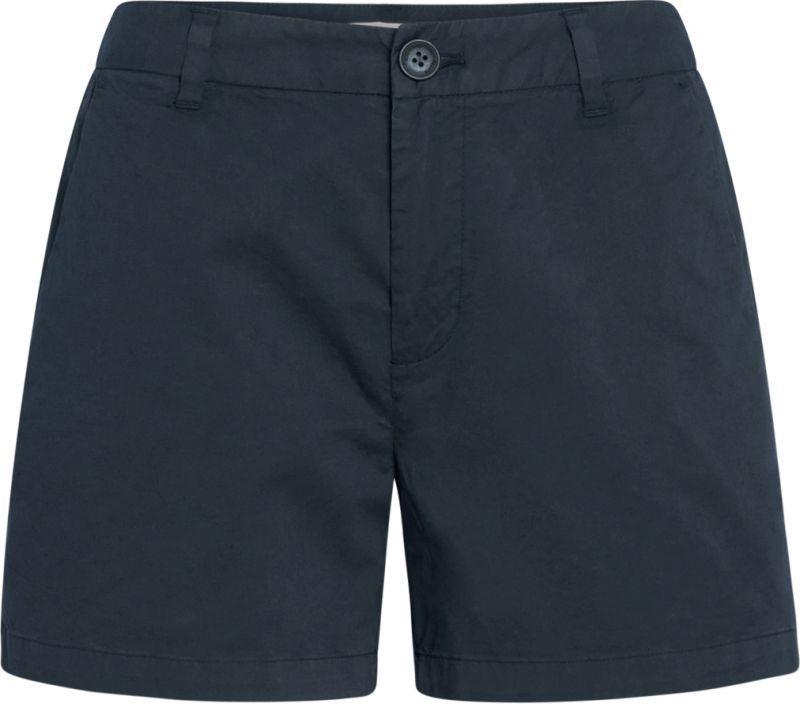 Dunkelblaue Chino-Shorts für Damen WILLOW
