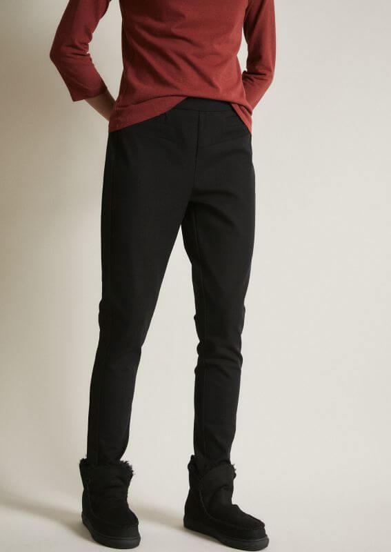 Bequeme Slim-Fit Hose für Damen black