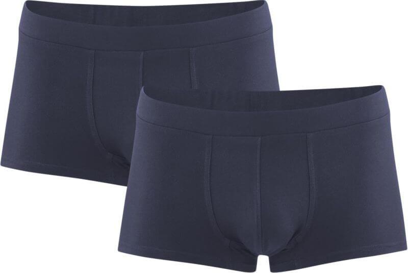 Herren-Shorts im 2er-Pack navy graphite