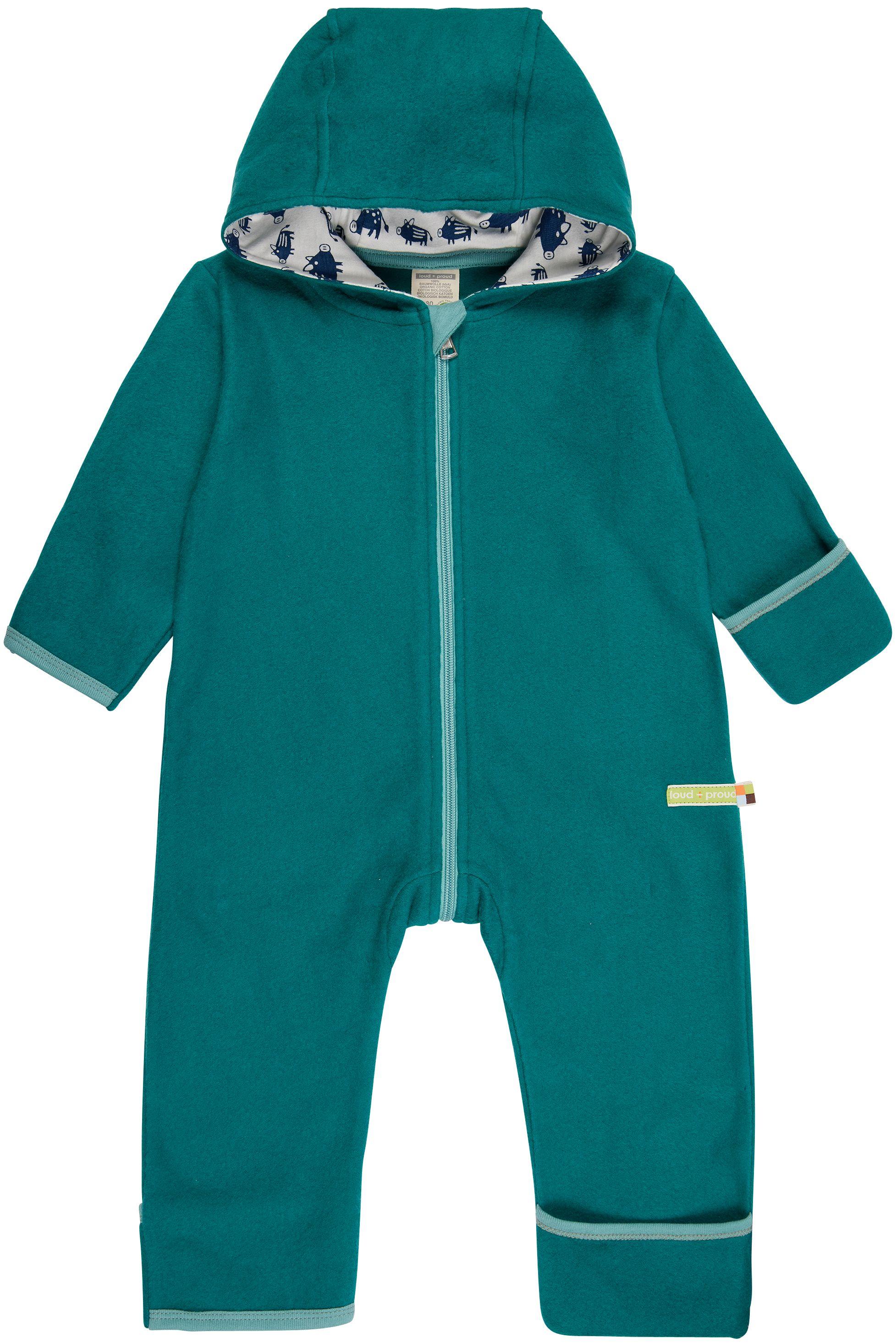 Weicher Fleece-Overall für Kinder Ivy