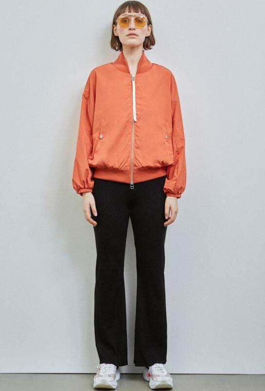 Modischer Damen-Blouson Hastings in Rust Orange