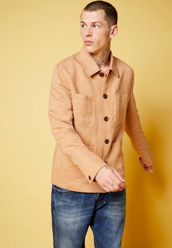 Schicke Workwear-Jacke Torreon cinnamon
