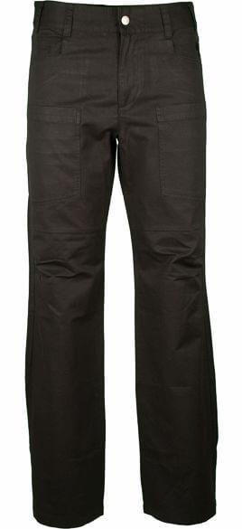 Lässige Abundance Pants für Herren in Schwarz