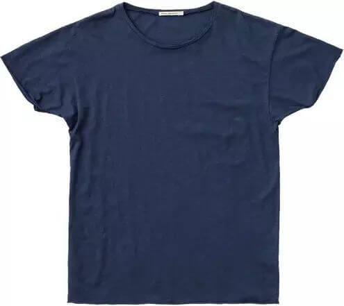 Basic T-Shirt Roger Slub Blueberry