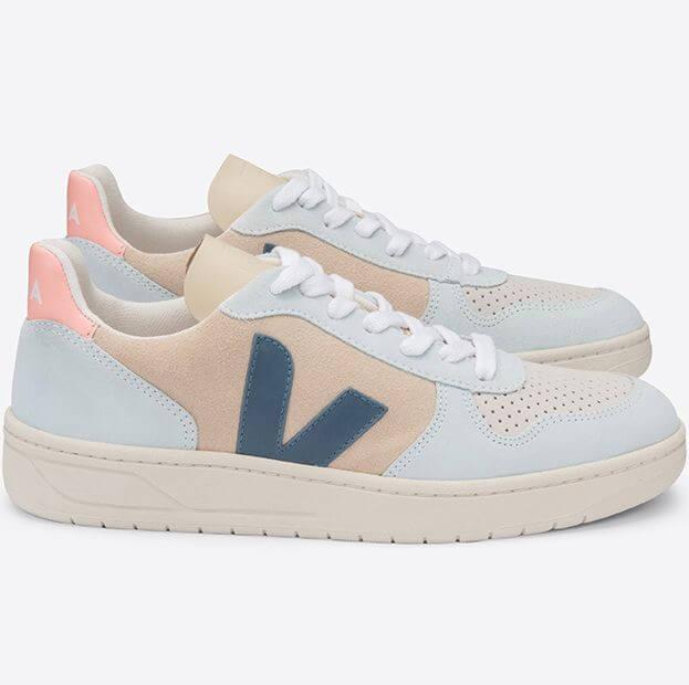 Sneaker V-10 Suede Multico/Almond/California