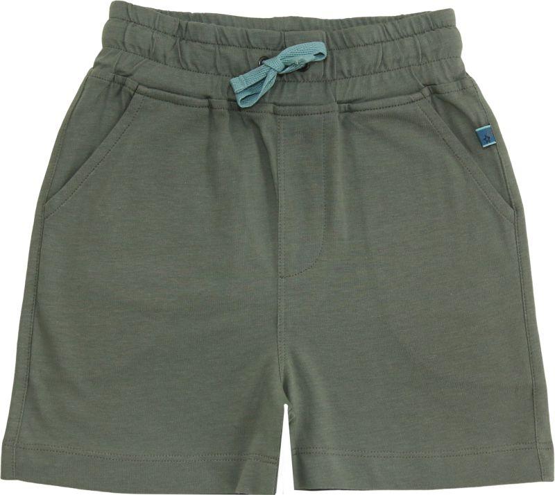 Bequeme Jersey-Shorts für Kinder oliv