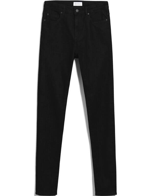 Damen-Jeans INGAA X STRETCH black night