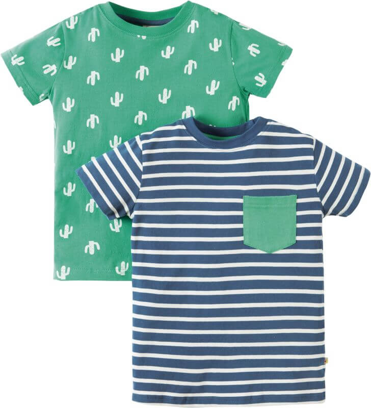 Coole Jungs-Shirts im Doppelpack