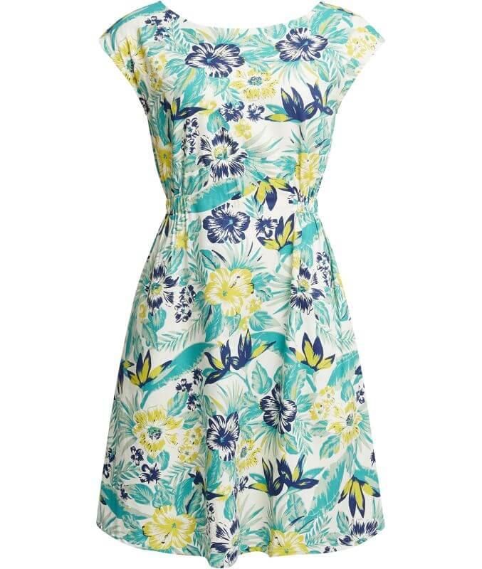 Schickes Kurzarm-Kleid Helene Tropical