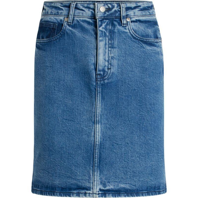 Modischer Jeans-Rock ROMY light blue