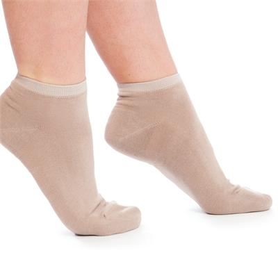 Sneaker-Socken im 2er-Pack natural/taupe