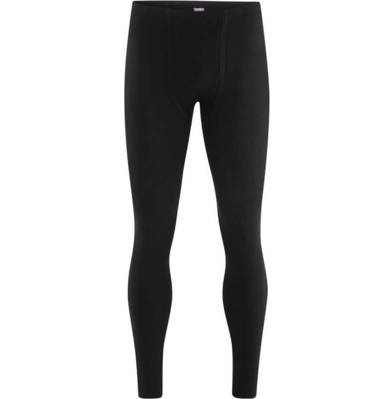 Lange Herren-Unterhose in Schwarz