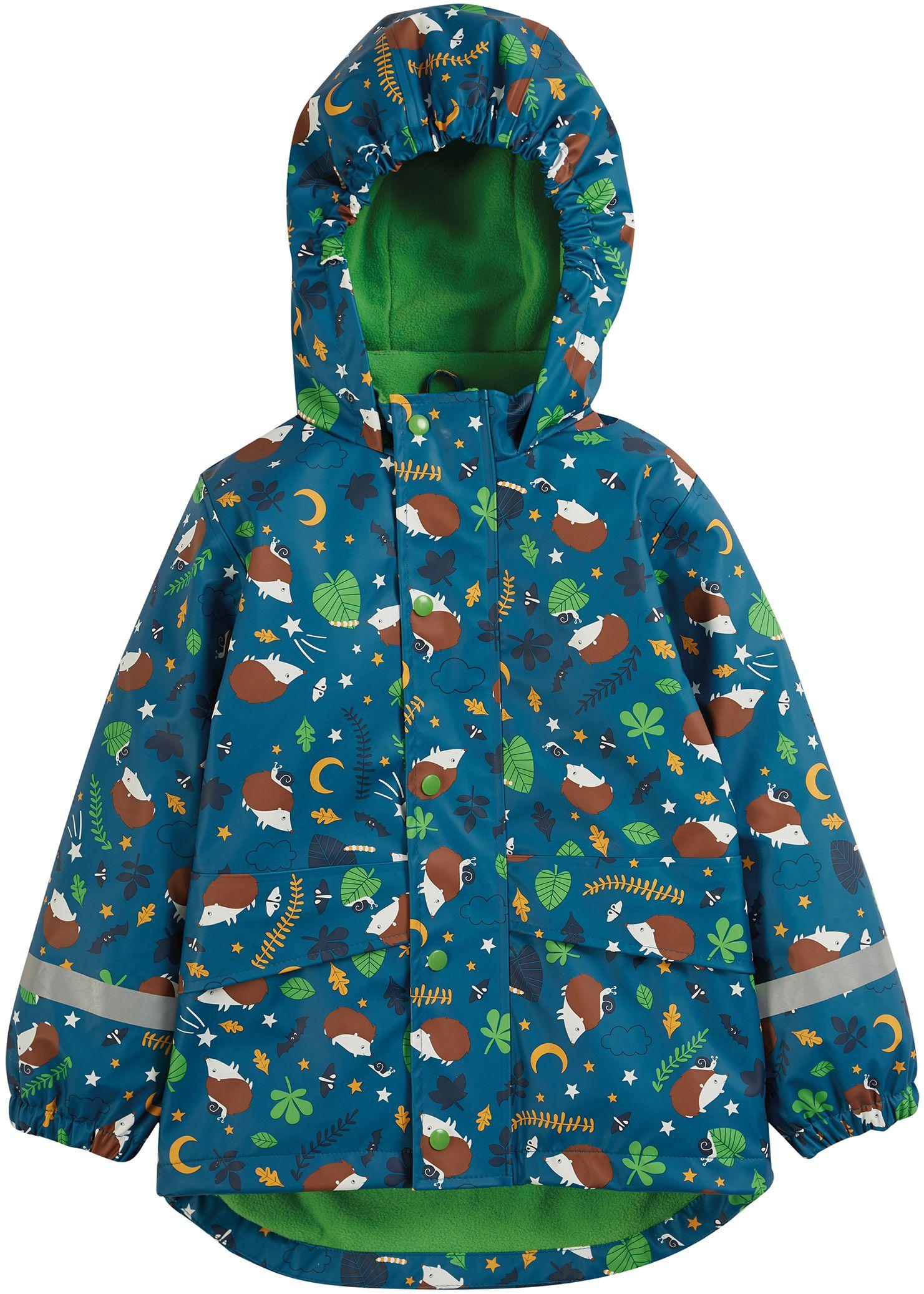 Wasserdichte Kinder-Jacke mit Igeln