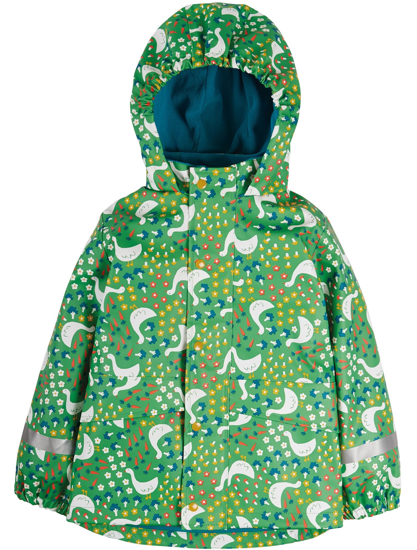 Wasserdichte Kinder-Jacke mit Gänsen