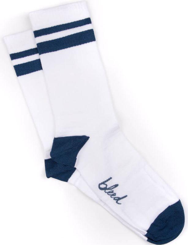 Weiße Skate-Socken mit Lyocell