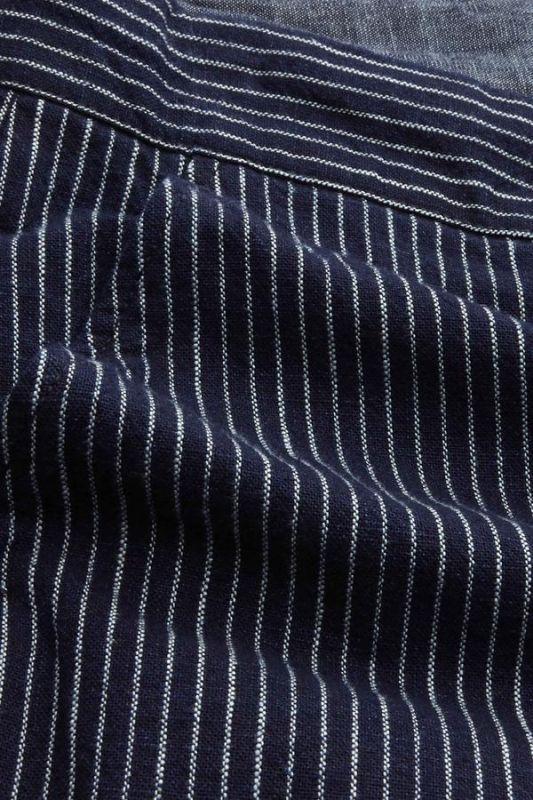 Gestreifte Stoff-Shorts CRONUS - Stripe Indigo