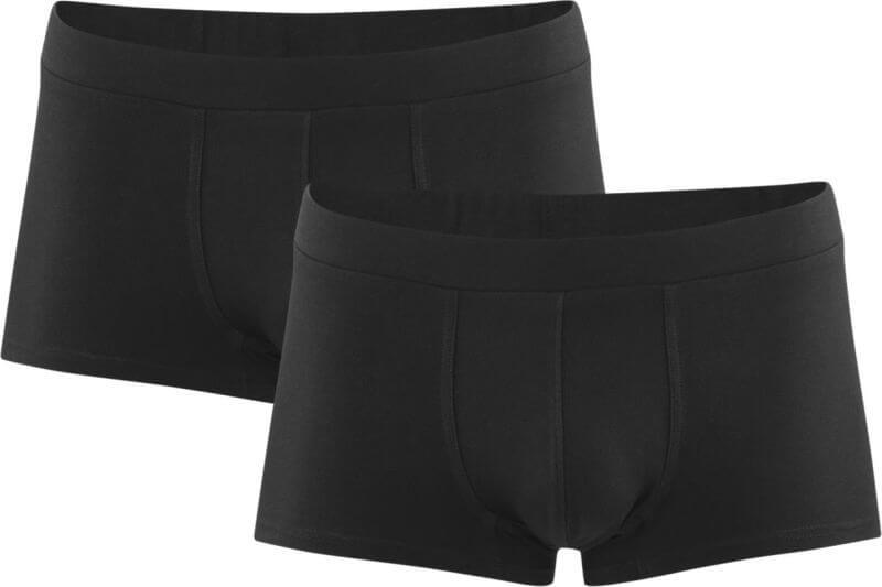 Herren-Shorts im 2er-Pack black