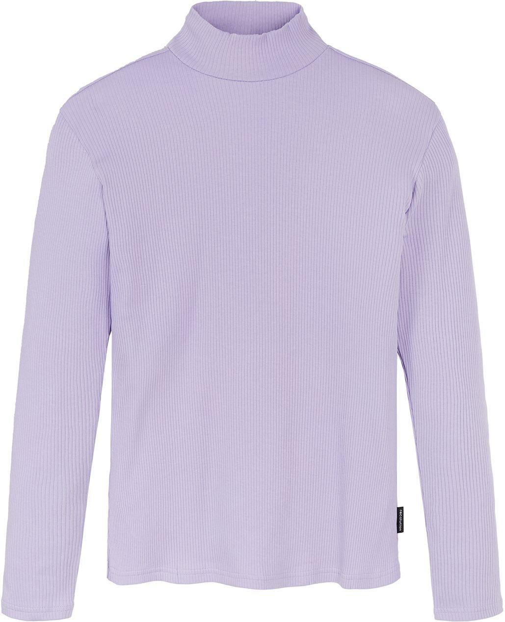 Basic Damen-Longsleeve POPPY lilac
