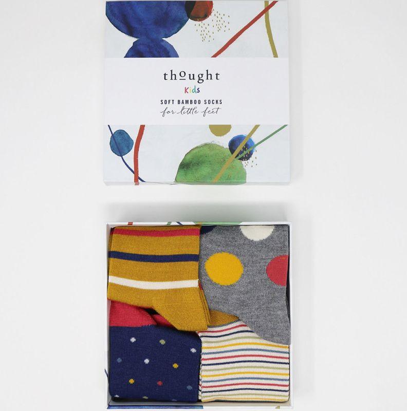 Geschenk-Box Shay Kids mit Kinder-Socken