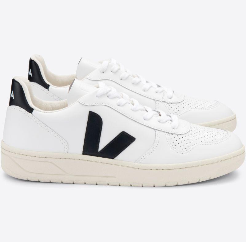 Herren-Sneaker V-10 Extra White/Black