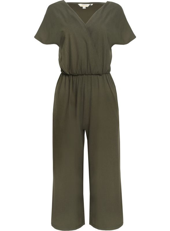 Bequemer Jumpsuit Evelyn in Khaki