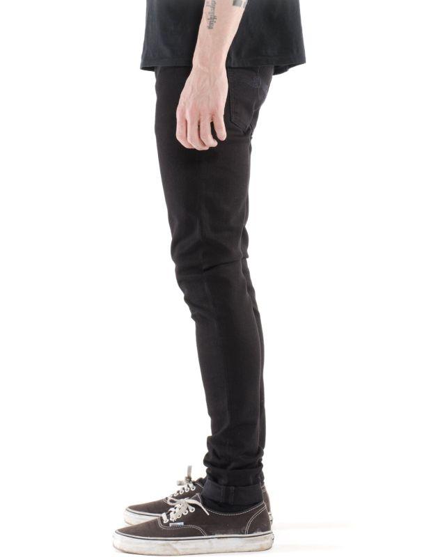 Skinny Lin - Black Black - unisex