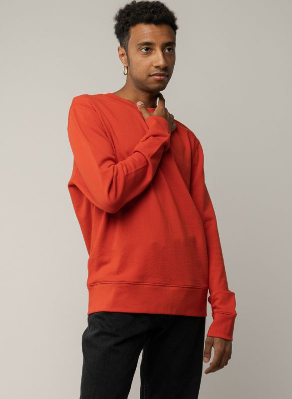 Sportliches Sweatshirt ADIL in tomato