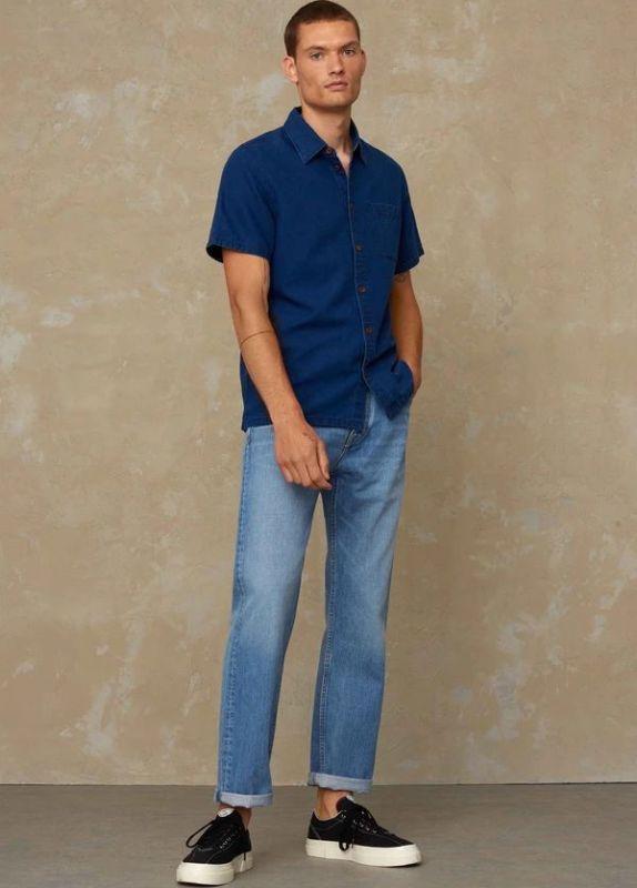 Straight-Fit Jeans KONG - Vintage Light Blue