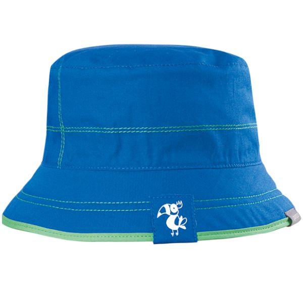 Blau-grüner Wende-Fischerhut für Jungs