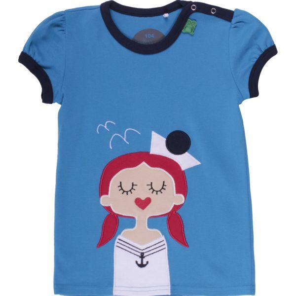 "Witziges Baby-Shirt ""Sailor"" in Blau"