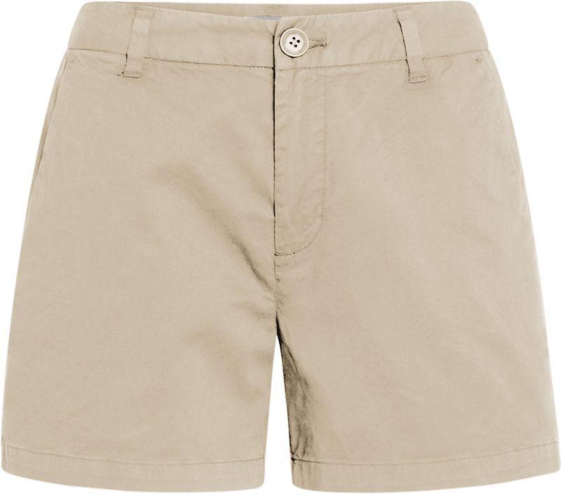 Beige Chino-Shorts für Damen WILLOW