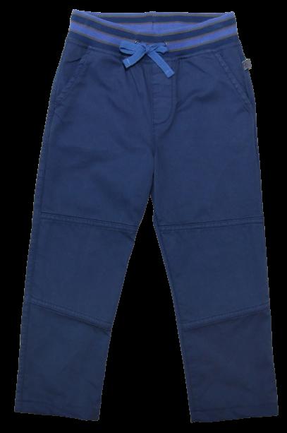 Kinder-Webhose mit gedoppeltem Knie tintenblau