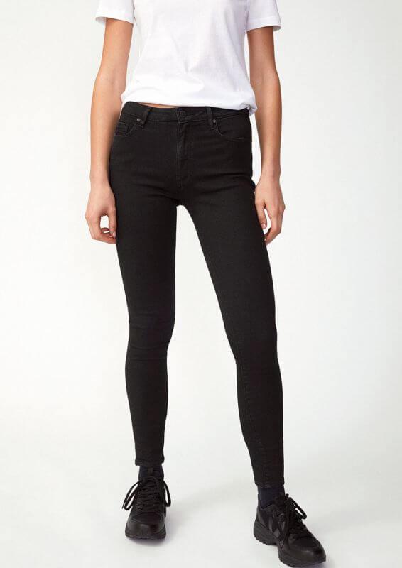 Damen-Jeans TILLAA X STRETCH black night