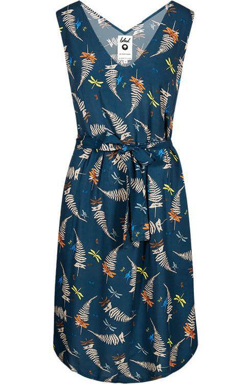 Weiches Lakefly-Kleid in Blau