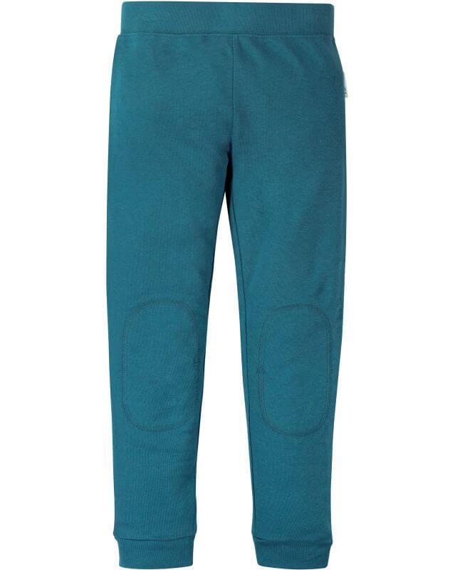 Bequeme Leggings in Blau mit verstärkten Knien