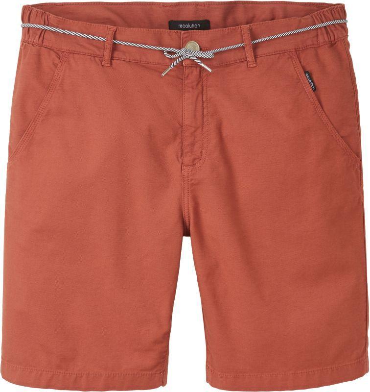 Canvas Shorts für Herren dark summer orange