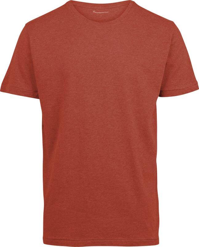 Basic Herren-Shirt ALDER rust melange