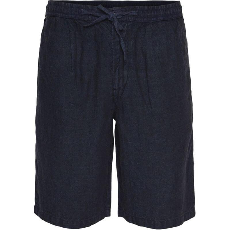 Lockere Herren-Shorts in Dunkelblau