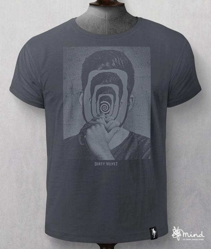 Herren-Shirt Inner Self Charcoal