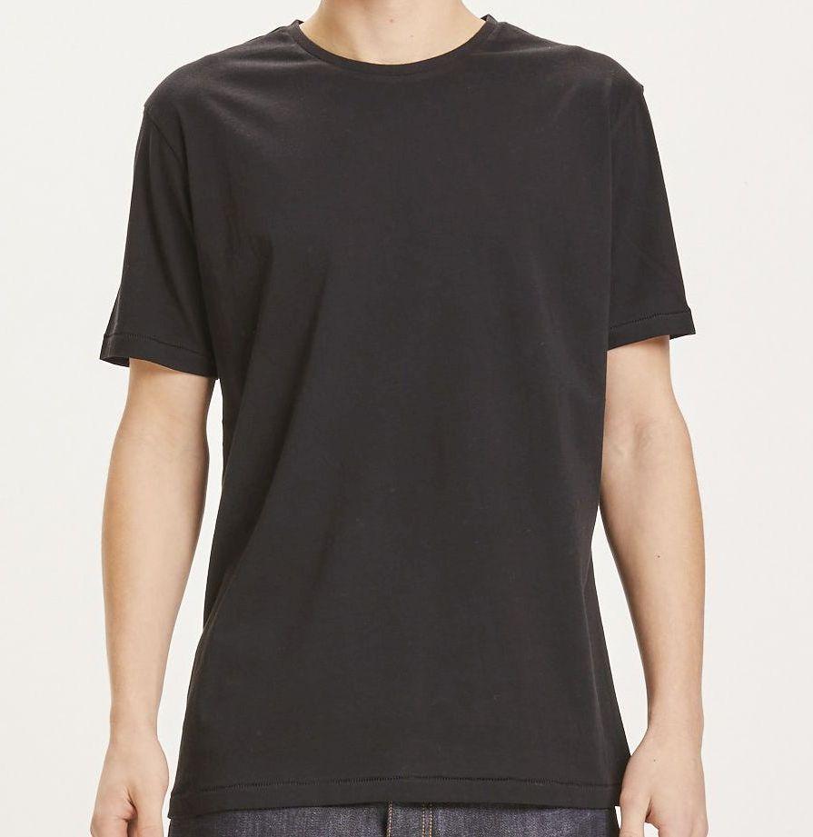 Basic Herren-Shirt ALDER black jet
