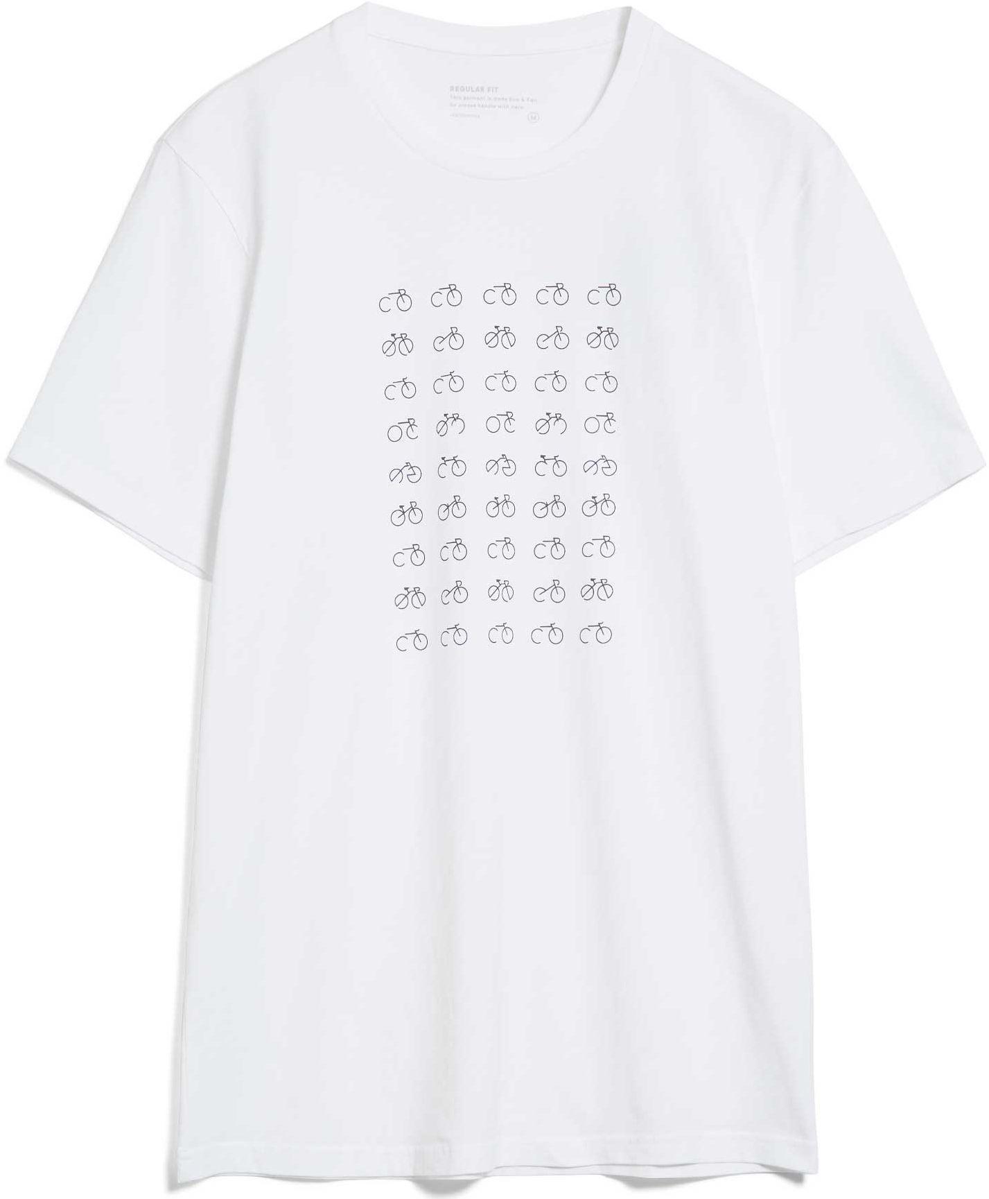 Herren-Shirt JAAMES 45 BIKES white