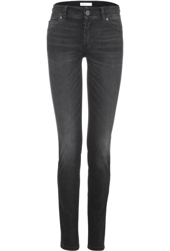 Vegane Damen-Jeans - Slim Fit - Black Kyanos