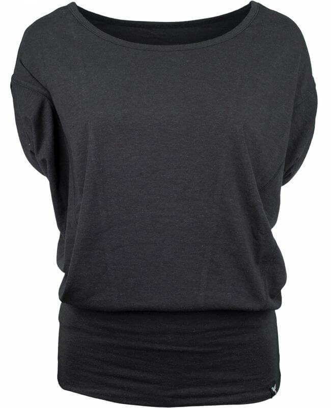 Schwarzes Wing Sweat-Shirt für Damen