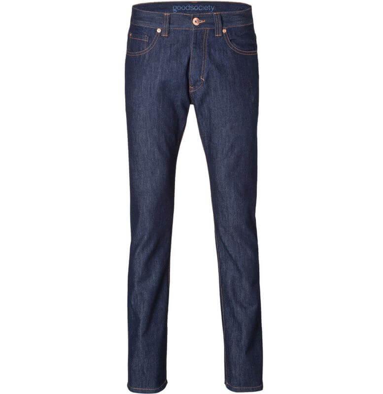 Herren-Jeans - Straight Fit - Raw One Wash