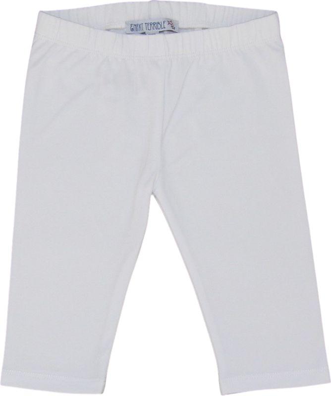 Bequeme 3/4-Leggings in Weiß