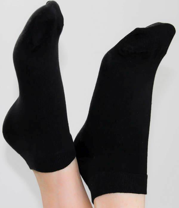 Bequeme Sneaker-Söckchen schwarz