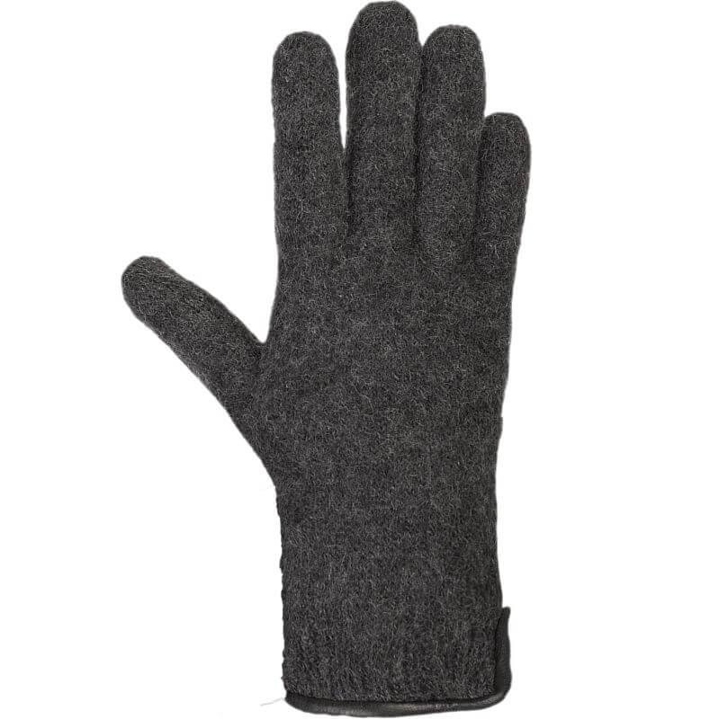 Walk-Handschuhe in Dunkelgrau (100% Wolle)
