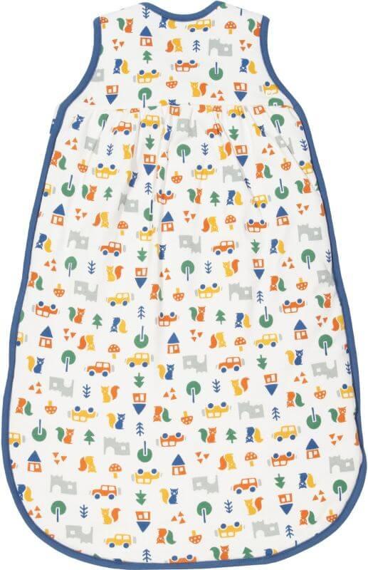 Niedlicher Baby-Schlafsack mit Brownsea-Print